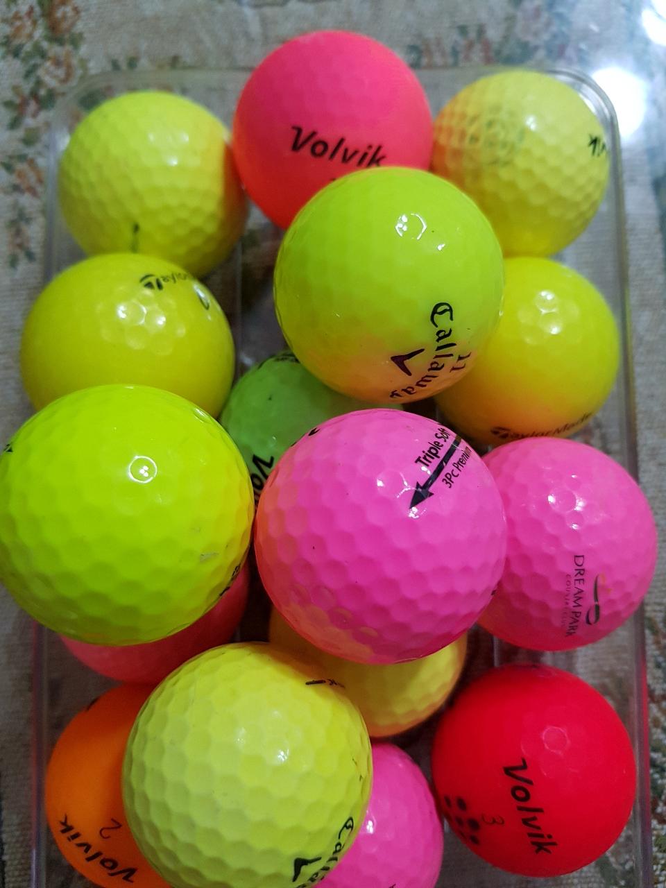 골프볼15개