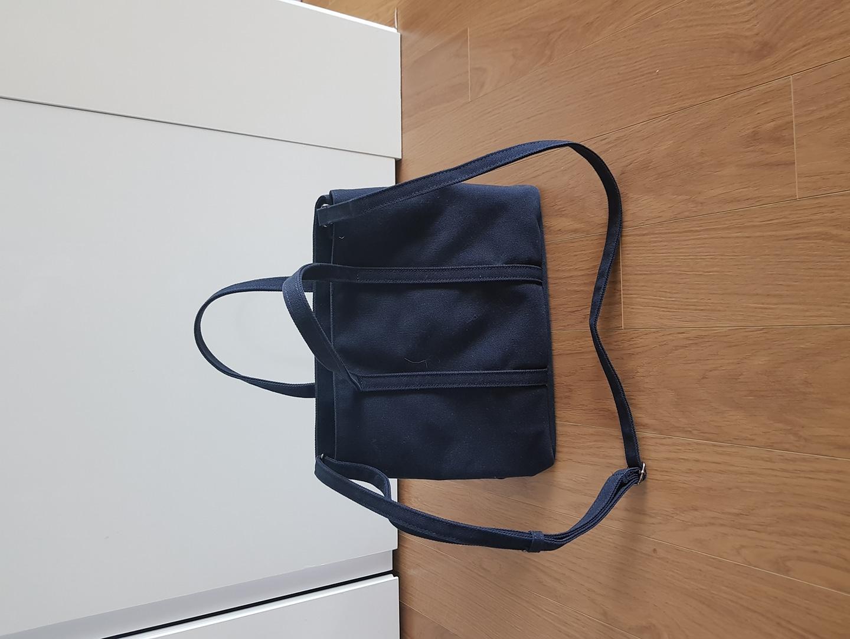 아이띵소 네이비 캔버스 가방-가격다운