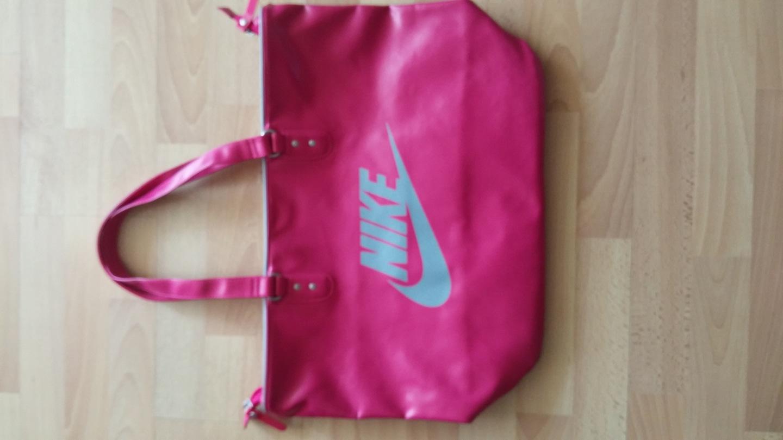 새상품)나이키 핑크가방