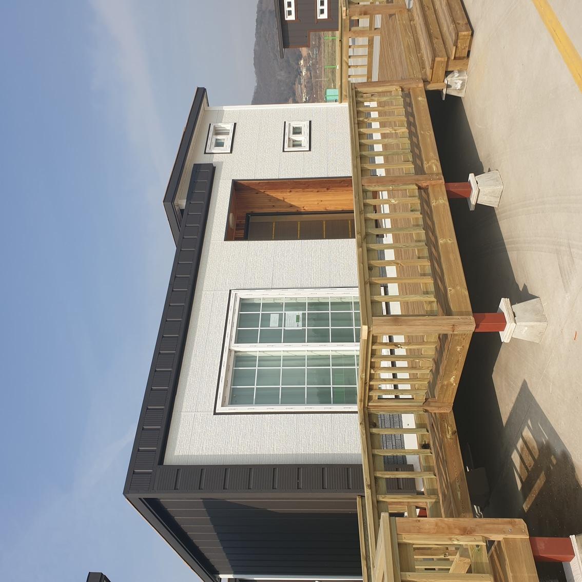 한국이동식혁신주택입니다 (이동식주택,목조주택,6평농막 제작해드립니다)