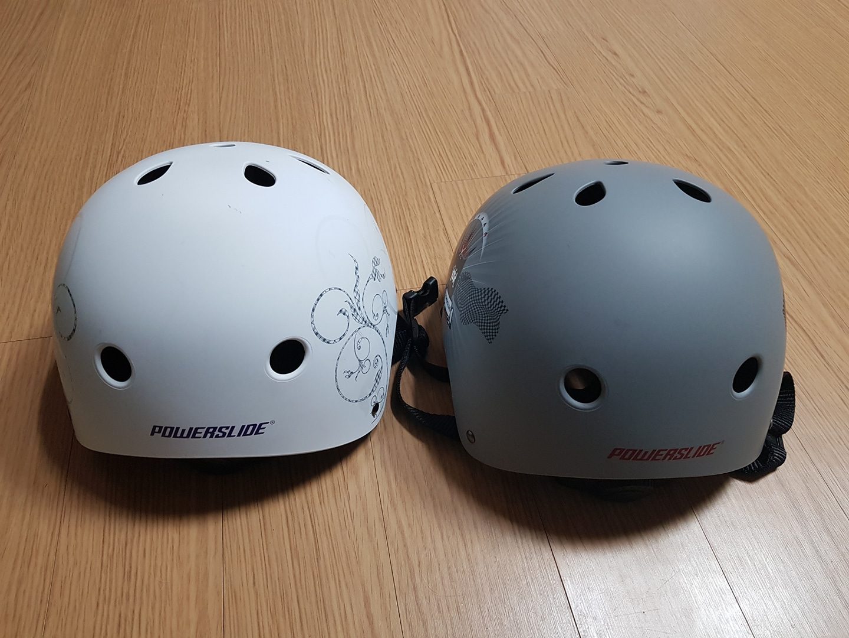 초등학생 안전헬멧 팝니다 헬멧 두개