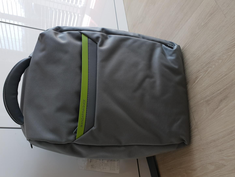만다리나덕 노트북백팩(새거입니다).남녀공용백팩