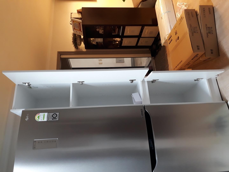 렙소디 냉장고키큰 수납장