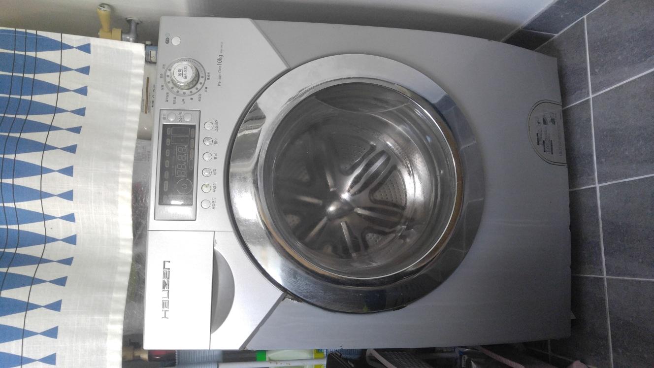 드럼세탁기10kg(건조기능있음)