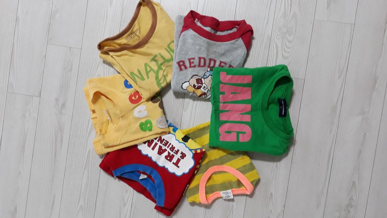 아기 티셔츠 6벌