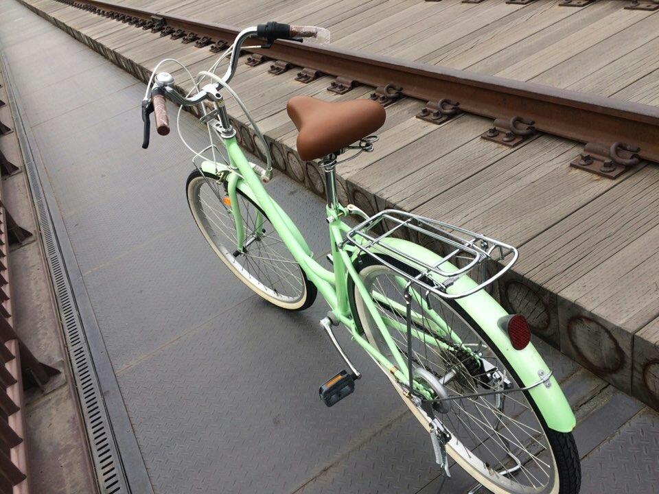 여성자전거 자전거 상태좋아요