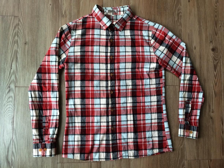 남녀공용 체크 셔츠