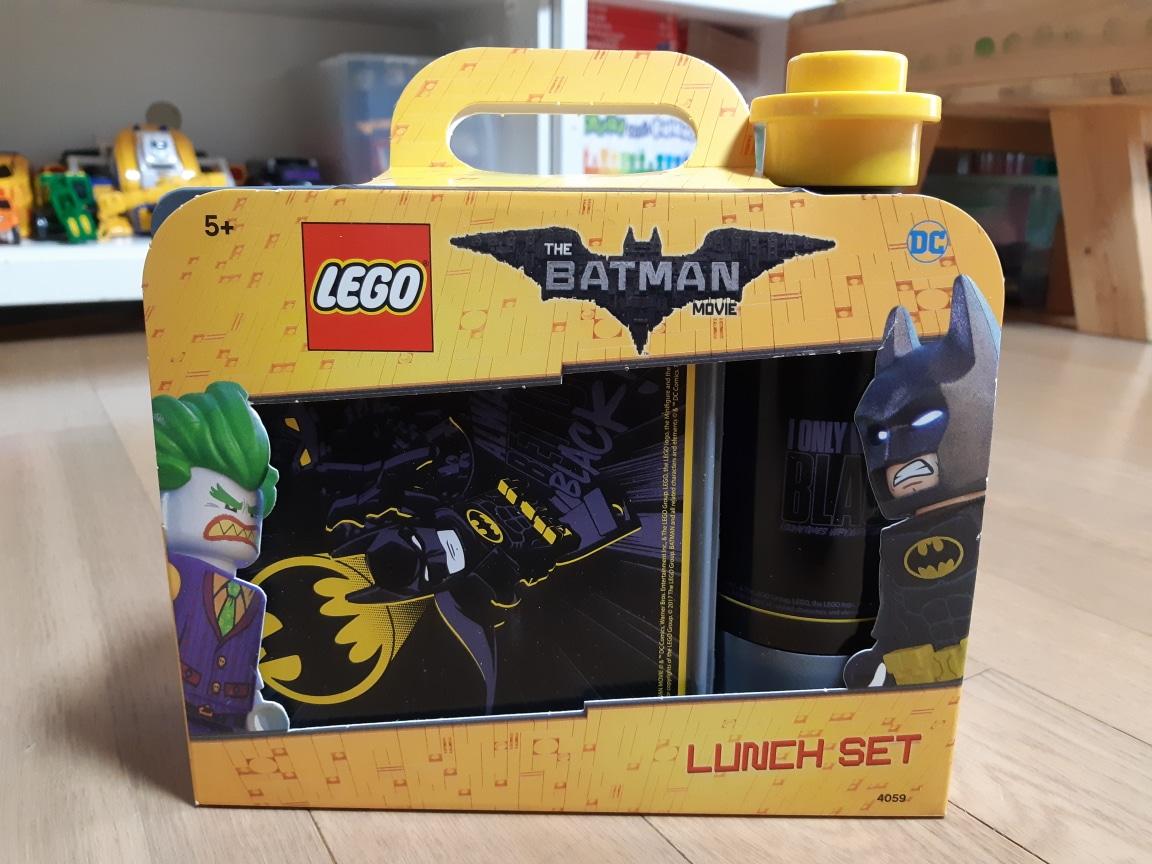 레고 배트맨 도시락과 물병세트