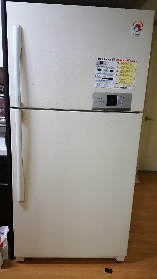 중고냉장고입니다