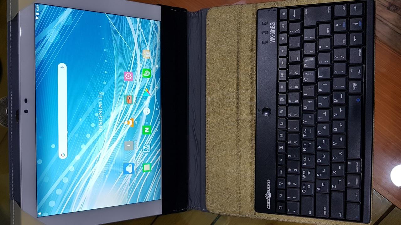 insignia 10인치 태블릿(안드로이드버젼)