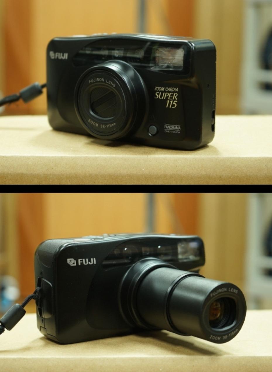 후지 줌 필름카메라 (줌 카디아 수퍼115)