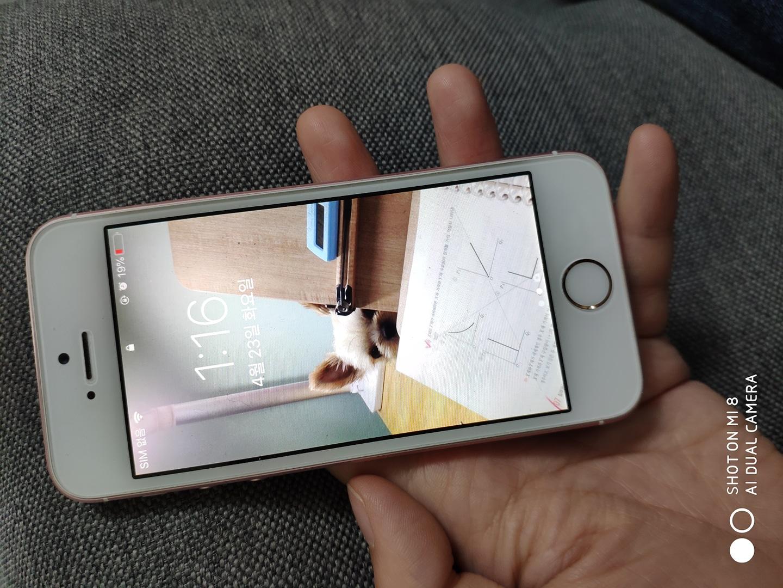 아이폰 SE 로즈골드 64G