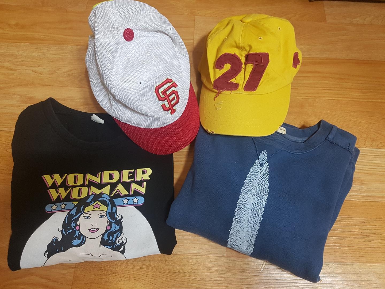 티셔츠+모자(일괄)