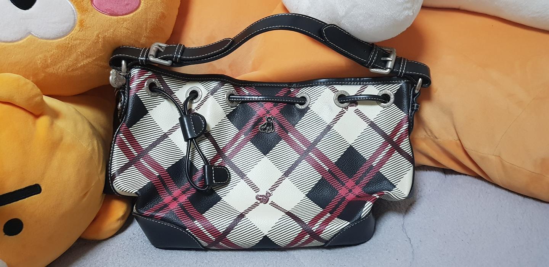 티니위니 귀여운 체크무늬 가방