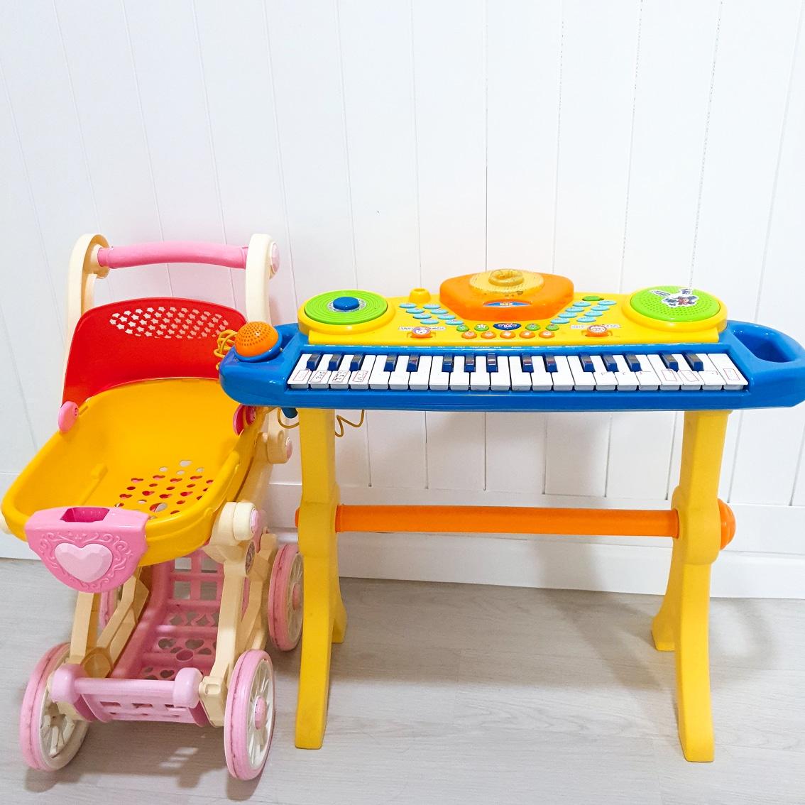 유아 장난감 카트(장난감피아노 무료나눔)