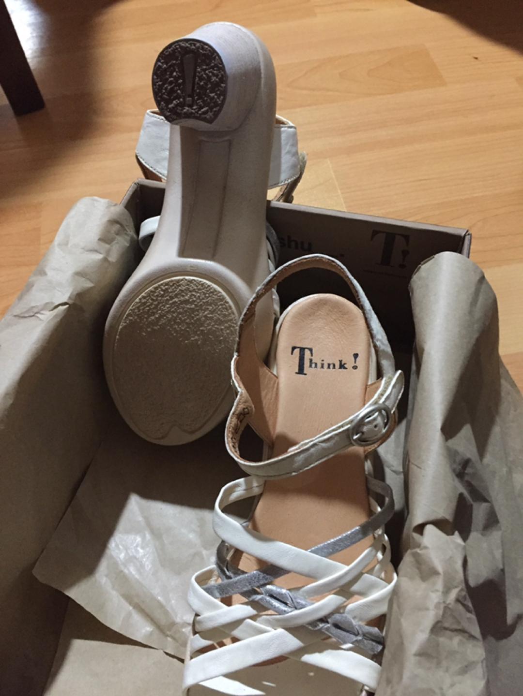 [해외] Think! Gspusal Strappy Sandal - 82535 Ivory/Kombi