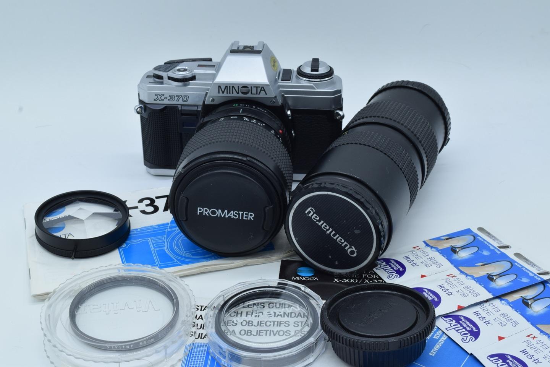 필름카메라 미놀타 x 370 점검 완료