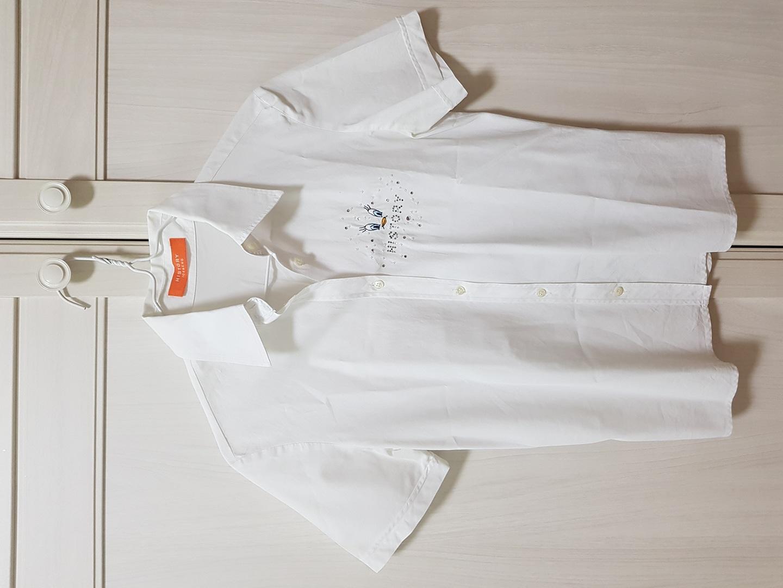 아이스버그 ICEBERG 히스토리 화이트 셔츠