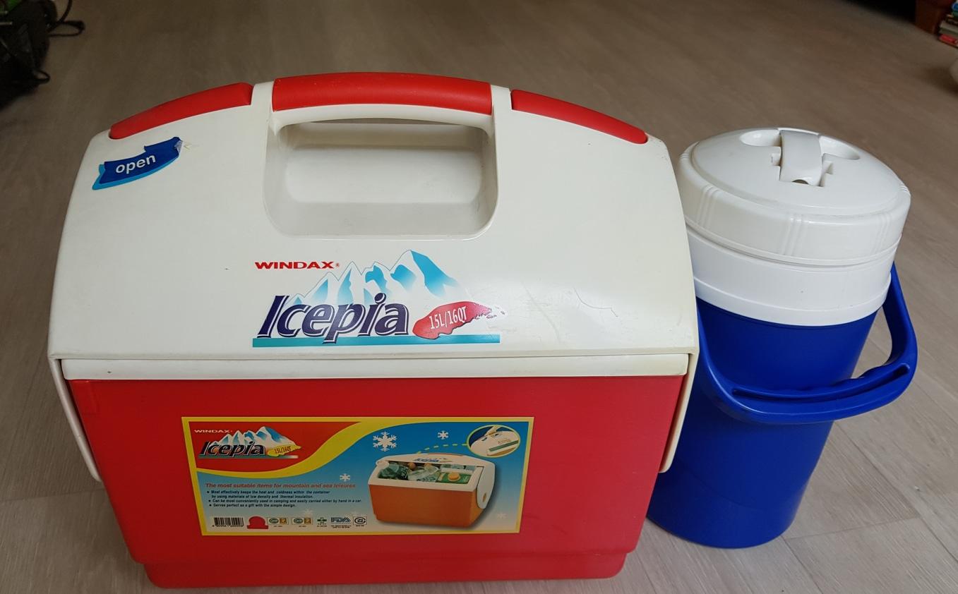 윈닥스 아이스피아 아이스박스15L+보냉물통
