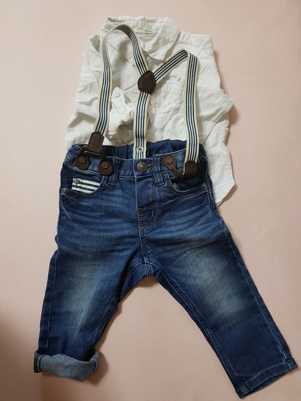 H&M 청바지~보세셔츠 같이 드려요~^^