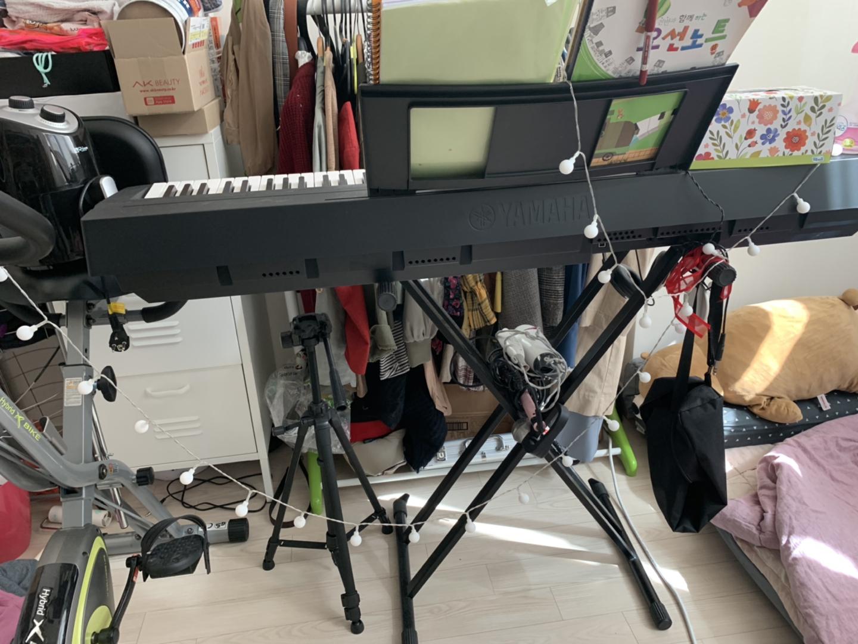 야마하 디지털 피아노+받침대+해드셋 (88건반) 완전 새거