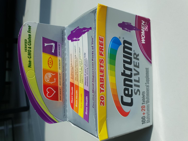 센트롬 여성용 실버종합비타민^^(120정)