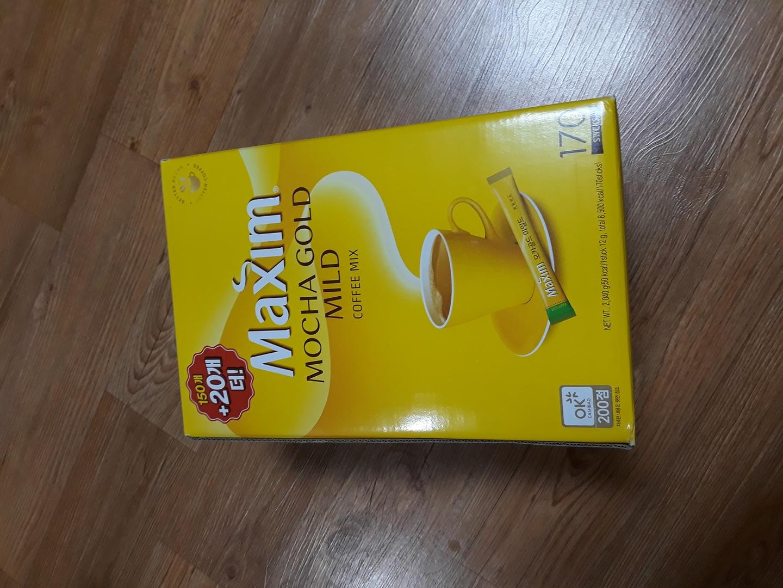 맥심 모카골드 마일드 170개