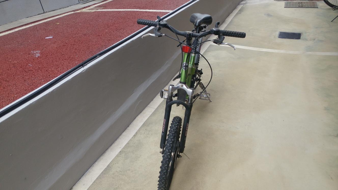 레스포 접이식자전거