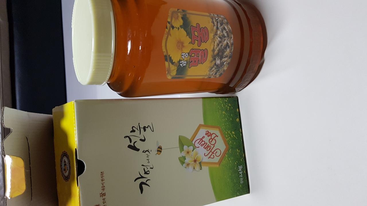 잡화 꿀 2.4kg