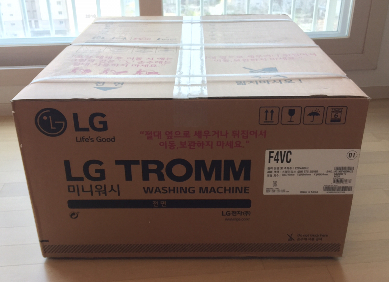 LG 트롬 미니워시 F4VC