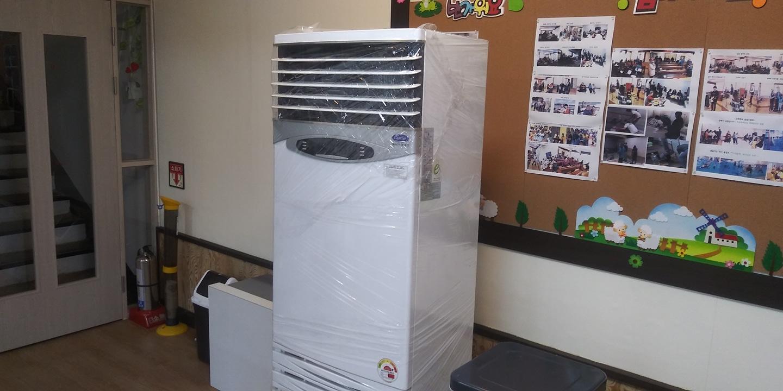 삼성캐리어 30평형에어컨   냉난방기  80만원
