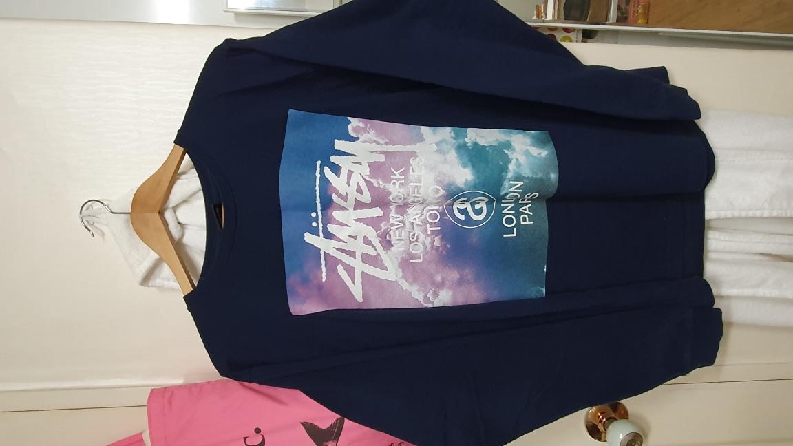스투시 롱슬리브 티셔츠 L사이즈