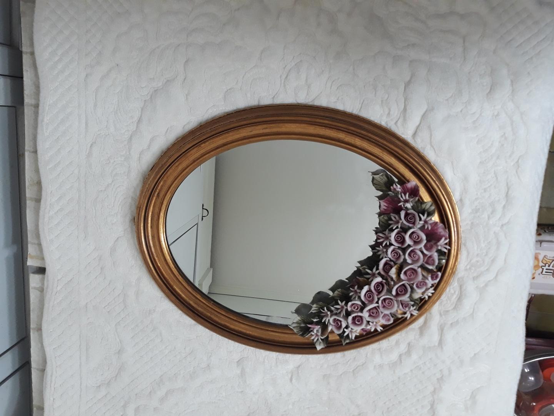엔틱 벽걸이 거울