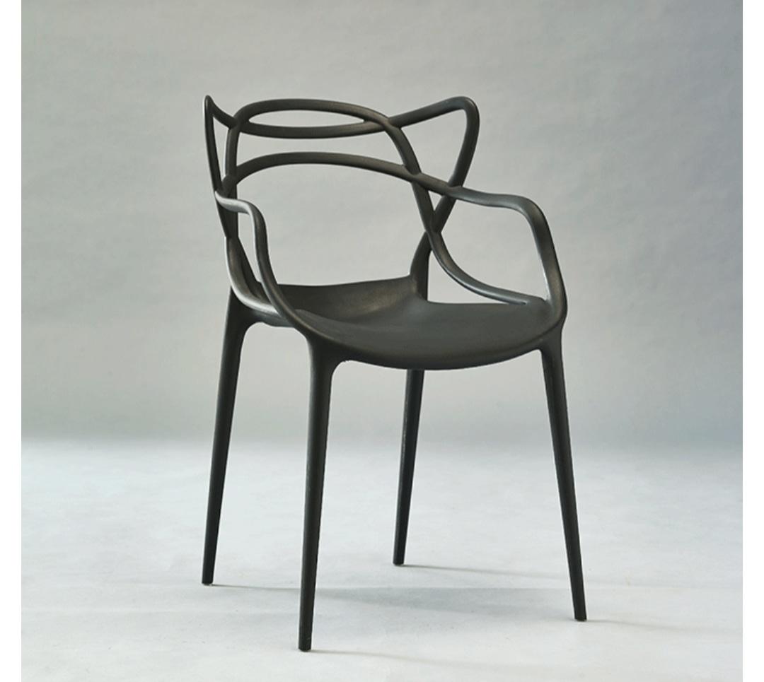 의자)) 디자인 사출의자 2개묶음