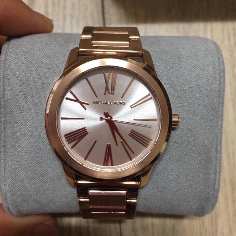 마이클코어스 시계 손목시계 메탈시계 로즈골드 여자시계