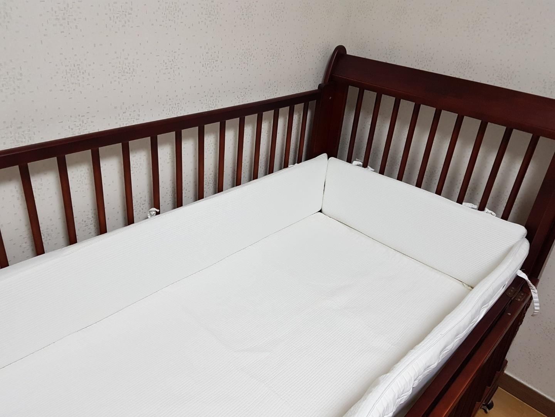압소바 원목 하프침대(유아용 침대, 아기침대)