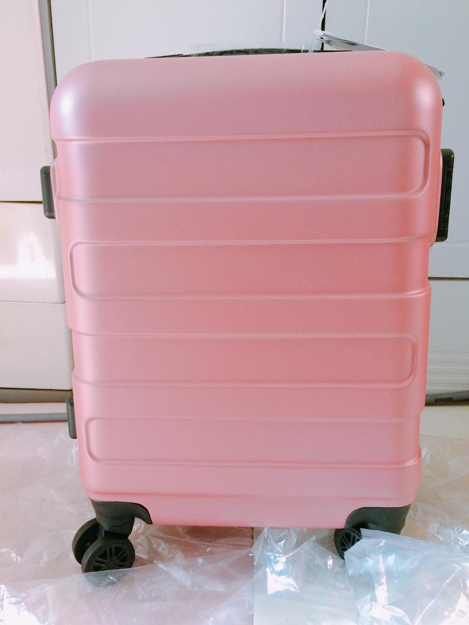 (새상품) 여행용 캐리어 20인치 핑크