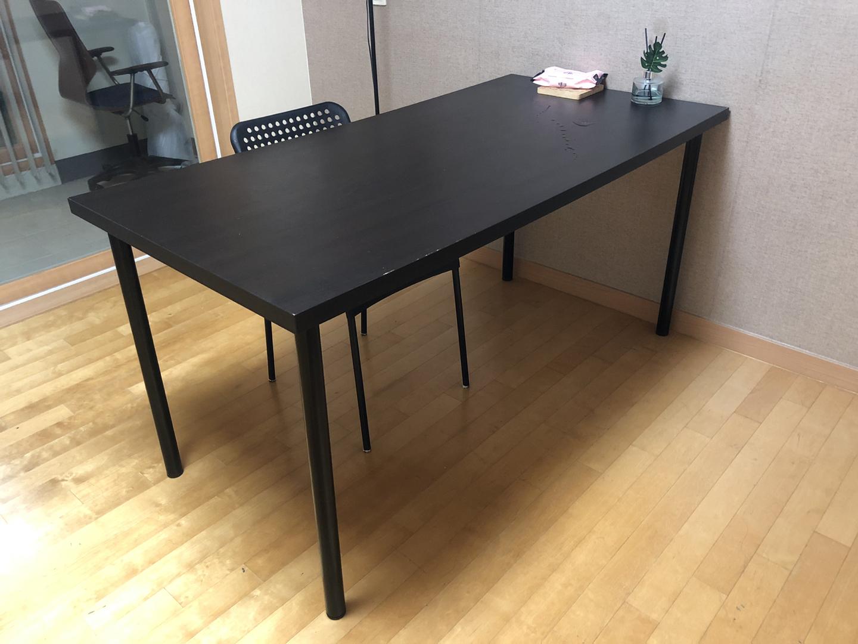 [무료나눔] 블랙 심플 테이블
