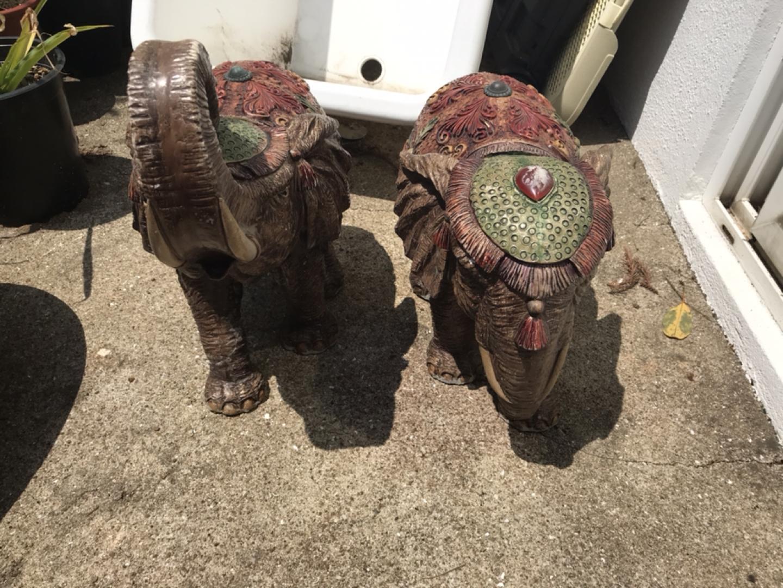 코끼리장식품