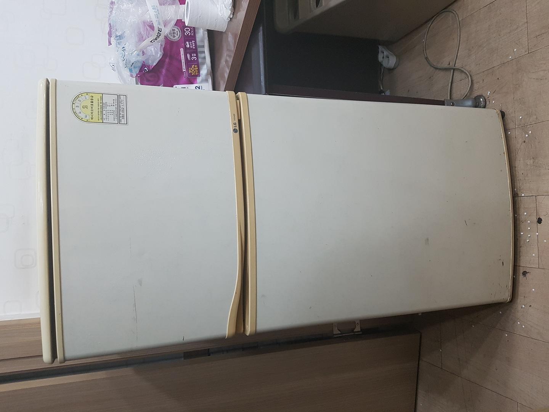 냉장고-LG 137리터 4만원