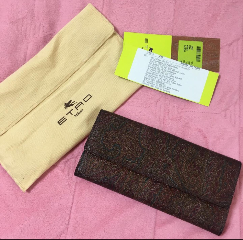 에트로 여성 장지갑