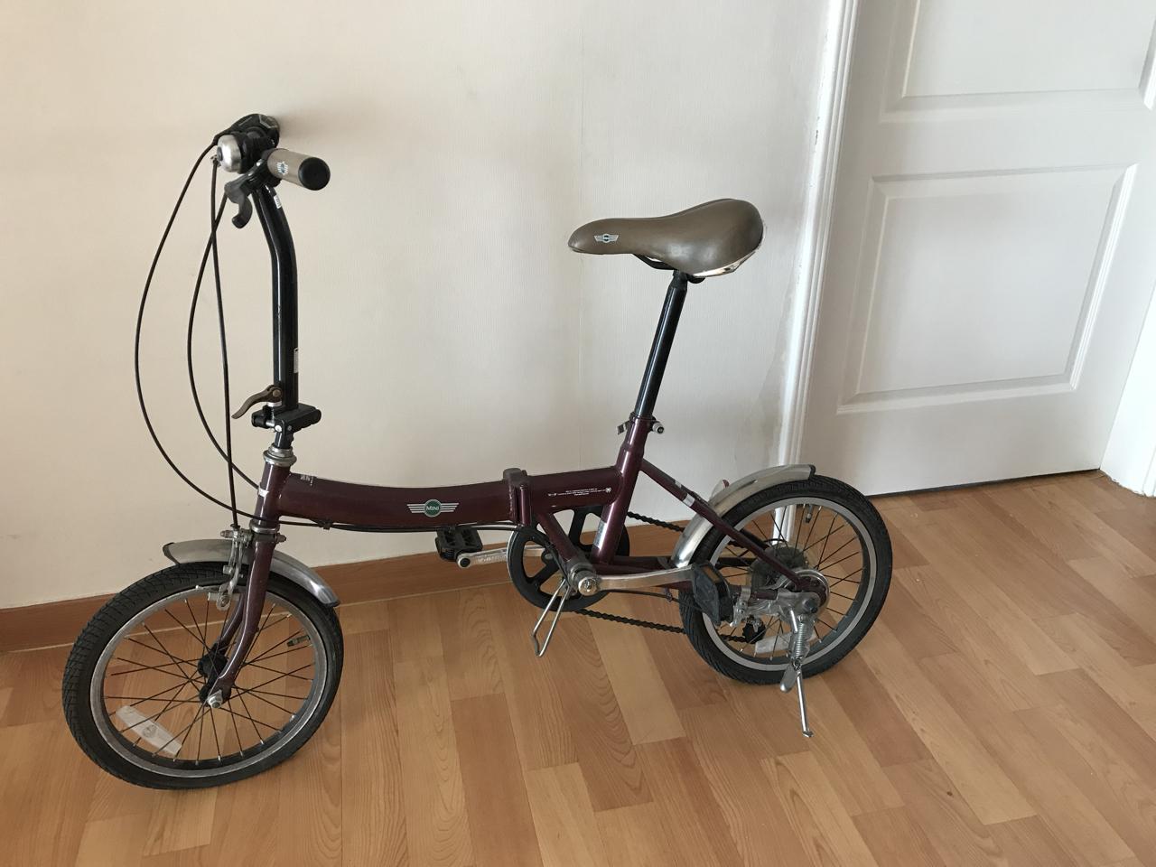 미니쿠퍼 자전거 (학생~성인용)