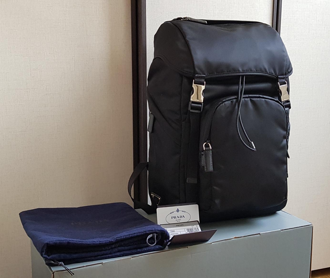 정품 프라다 포코노 백팩, 프라다 가방, 프라다백팩, 2VZ135