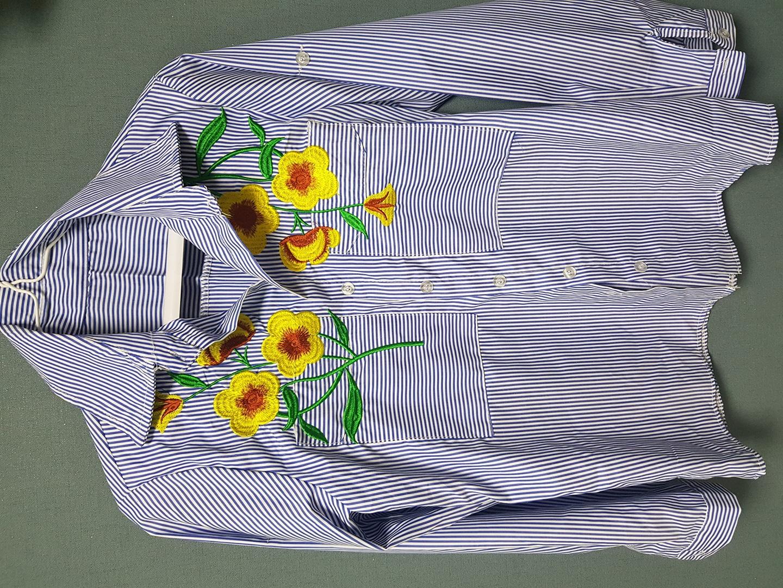 스트라이프셔츠