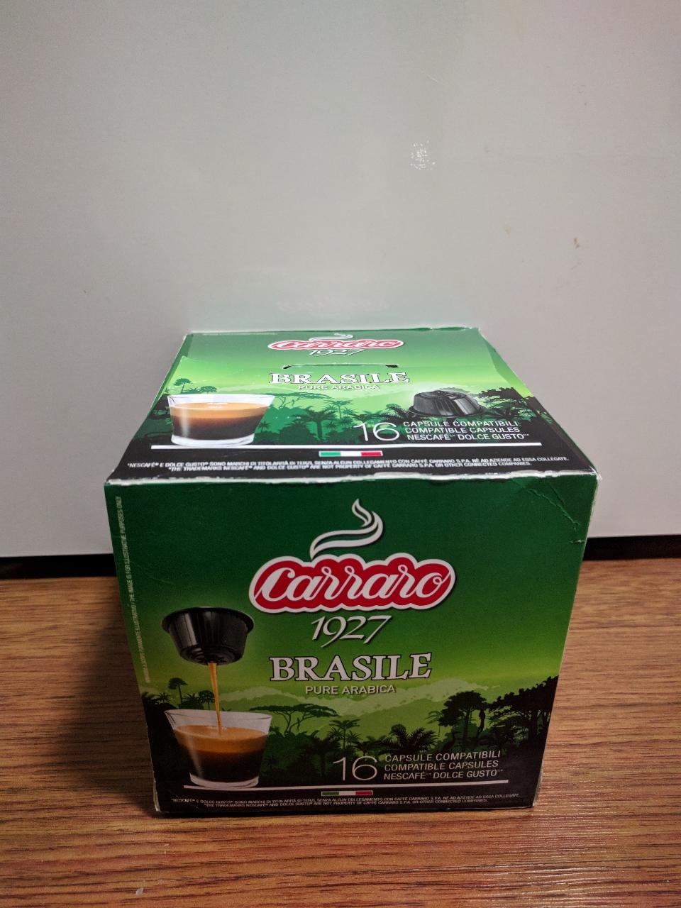 까라로 돌체구스토 16개 브라질 커피캡슐