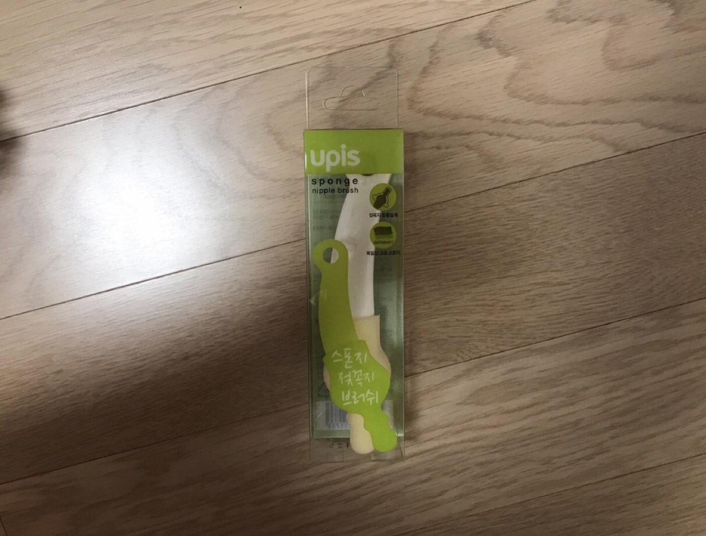 (새상품)유피스 젖꼭지브러쉬, 밥독 젖꼭지
