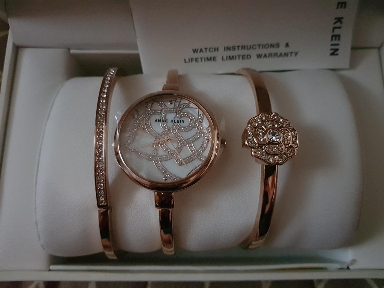 앤클라인 시계팔찌 3종세트(미사용)