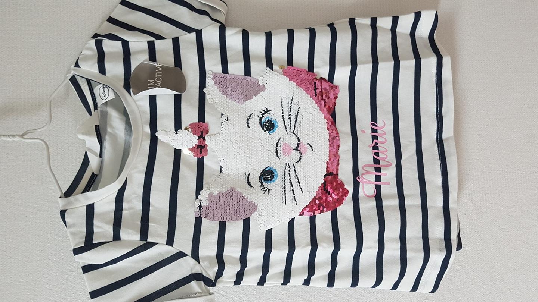 새상품)H&M 3~4세 스팽글 여름티셔츠