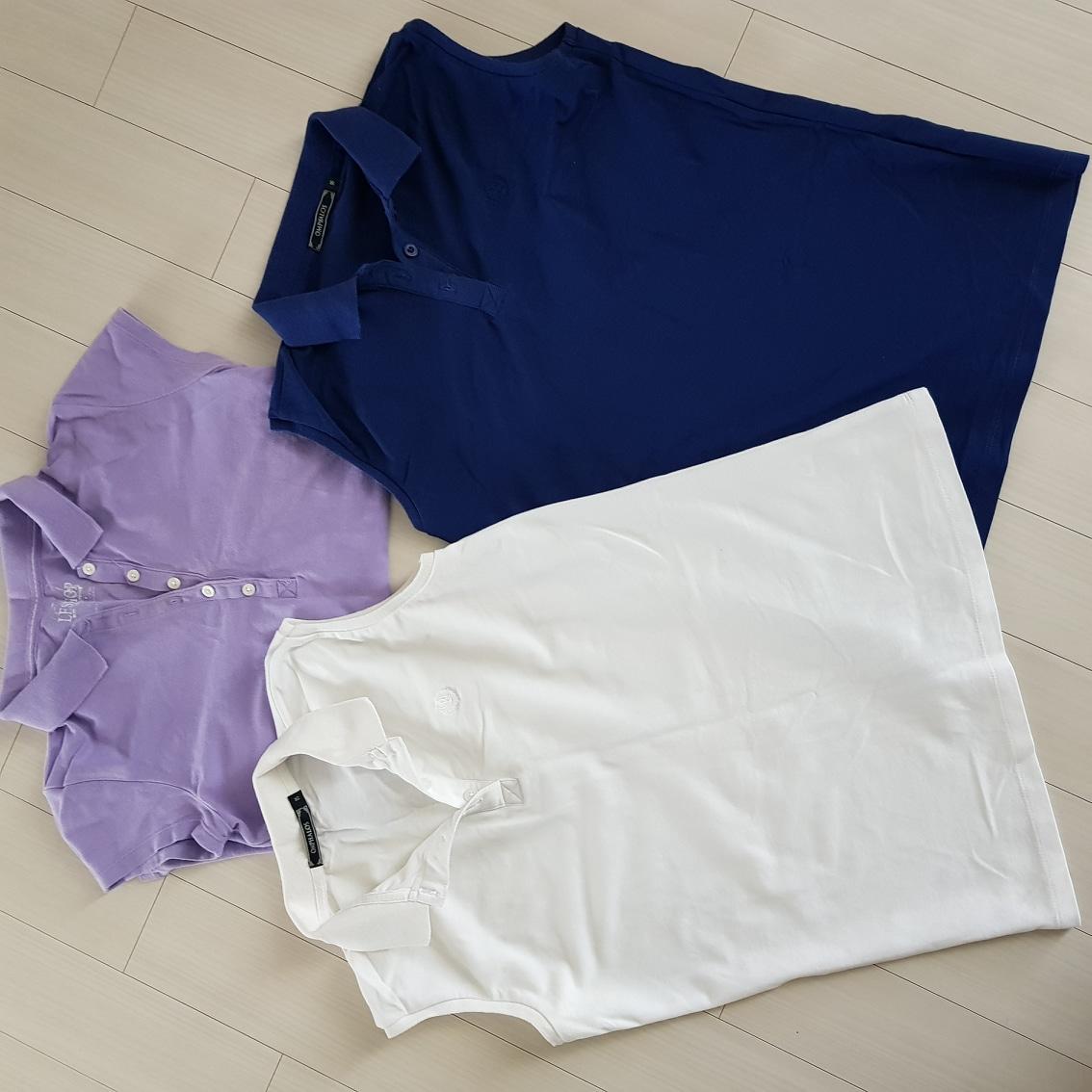 여성 여름 민소매 티셔츠팔아요(새거,3개가격)