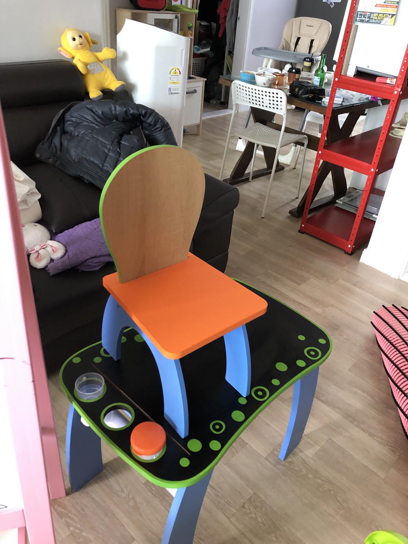 ㅇ칠판책상+의자2개